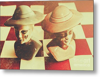 Vintage Chess Piece Monarch Metal Print by Jorgo Photography - Wall Art Gallery