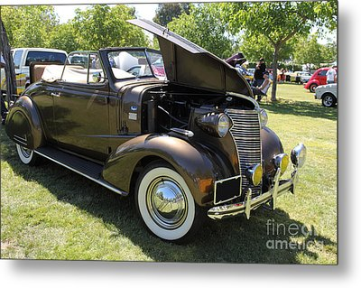 Vintage Chevrolet . 5d16161 Metal Print by Wingsdomain Art and Photography