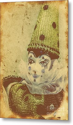 Vintage Circus Postcard Metal Print by Jorgo Photography - Wall Art Gallery