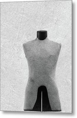 Metal Print featuring the photograph Vintage Dress Form by Brooke T Ryan
