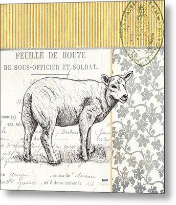Vintage Farm 3 Metal Print by Debbie DeWitt