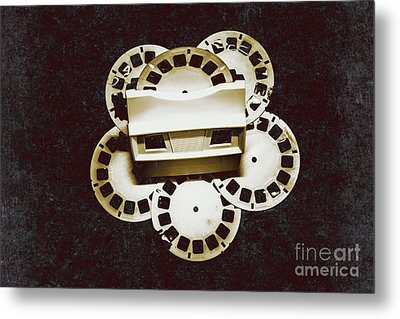 Vintage Film Toy Metal Print by Jorgo Photography - Wall Art Gallery