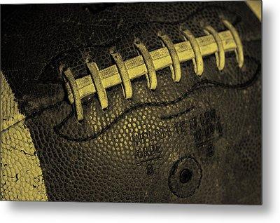 Vintage Football 4 Metal Print by David Patterson