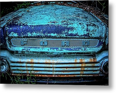 Vintage Ford Pick Up Metal Print