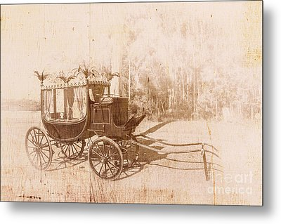 Vintage Funeral Hearse Metal Print by Jorgo Photography - Wall Art Gallery