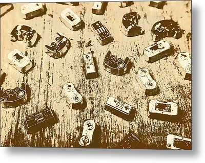 Vintage Gamers Metal Print by Jorgo Photography - Wall Art Gallery