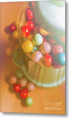 Vintage Gum Ball Candy Dispenser Metal Print by Jorgo Photography - Wall Art Gallery