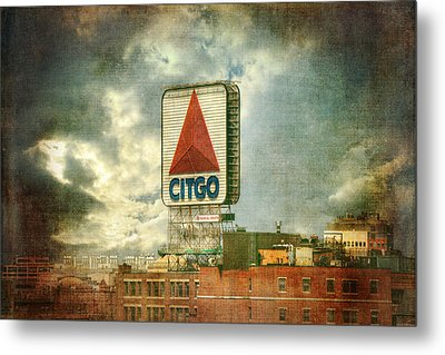 Vintage Kenmore Square Citgo Sign - Boston Red Sox Metal Print