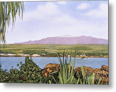 Vintage Mauna Kea Metal Print by Hawaiian Legacy Archive - Printscapes