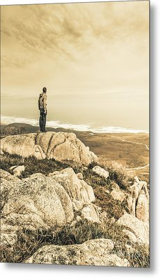 Vintage Mountain Dreamer Metal Print by Jorgo Photography - Wall Art Gallery