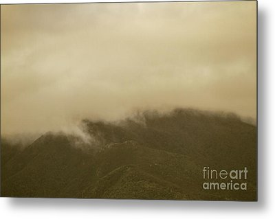 Vintage Mountains Covered By Cloud Metal Print by Jorgo Photography - Wall Art Gallery
