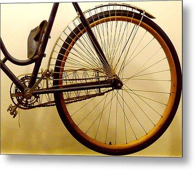 Vintage Remington Bike Metal Print by Lori Seaman
