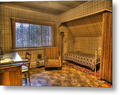 Vintage Room Metal Print by Jason Evans