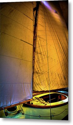 Metal Print featuring the photograph Vintage Sailboat by David Patterson