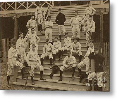 Vintage Saint Louis Baseball Team Photo Metal Print