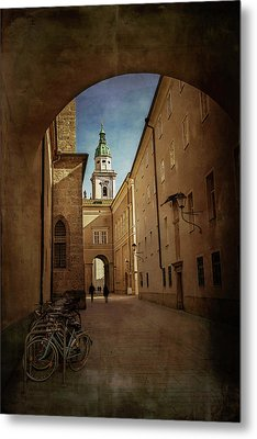 Metal Print featuring the photograph Vintage Salzburg by Carol Japp