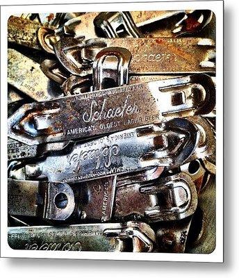 Vintage Schaefer Metal Print by Natasha Marco