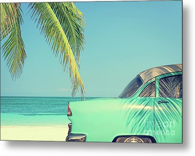 Metal Print featuring the photograph Vintage Summer by Delphimages Photo Creations