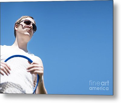 Vintage Tennis Metal Print by Jorgo Photography - Wall Art Gallery