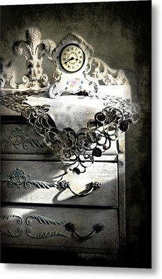 Metal Print featuring the photograph Vintage Time by Diana Angstadt