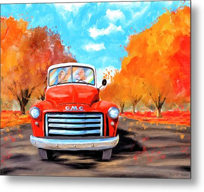 Autumn Is Timeless Metal Print