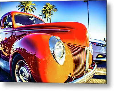 Vintage Vibrance Metal Print by Mark David Gerson