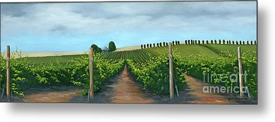 Vintners Winery Metal Print