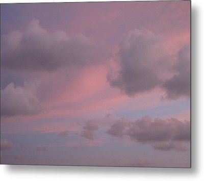 Violet Cloud Formation 1 Metal Print