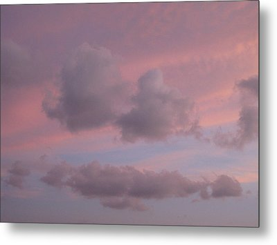 Violet Cloud Formation 2 Metal Print