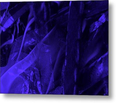 Violet Shine I Metal Print