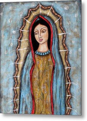 Virgen De Guadalupe Metal Print by Rain Ririn