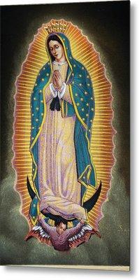 Virgen Metal Print by Kasper Castillo