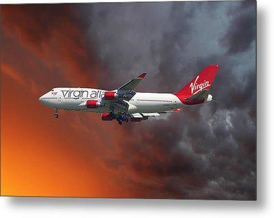 Virgin Atlantic Metal Print