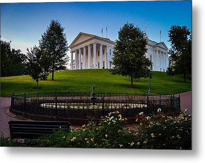 Virginia Capitol Building Metal Print