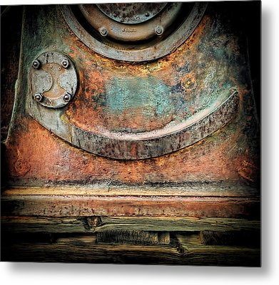 Metal Print featuring the photograph Virginia City Rust by Steve Siri