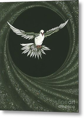 Viriditas-holy Spirit Detail Metal Print