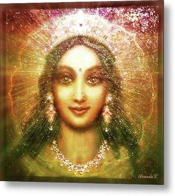 Vision Of The Goddess  Metal Print by Ananda Vdovic