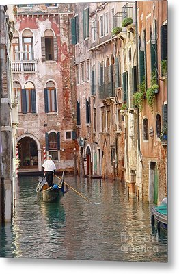 Visions Of Venice 2. Metal Print by Nancy Bradley
