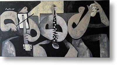 Vitae The Musicians  Metal Print by Mark M Mellon