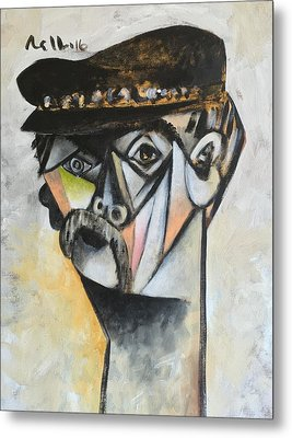 Vitae The Old Man  Metal Print by Mark M Mellon