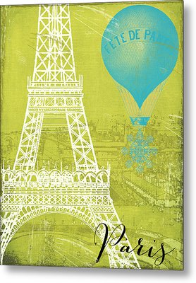 Viva La Paris Metal Print by Mindy Sommers