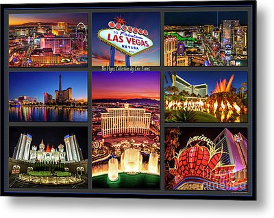 Viva Las Vegas Collection Metal Print