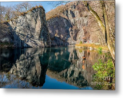 Vivian Quarry Metal Print by Adrian Evans