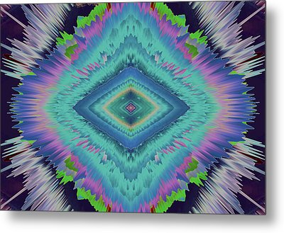 Exponential Flare 2 Metal Print by Colleen Taylor