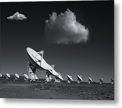 VLA Metal Print by Carolyn Dalessandro
