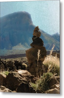Volcanic Desert Composition Metal Print by Loriental Photography