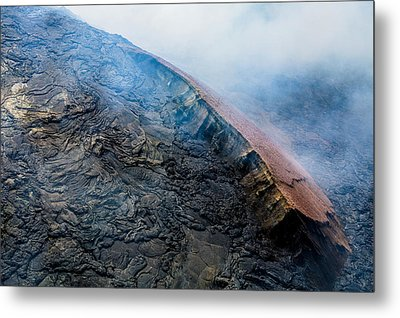 Metal Print featuring the photograph Volcanic Ridge by M G Whittingham