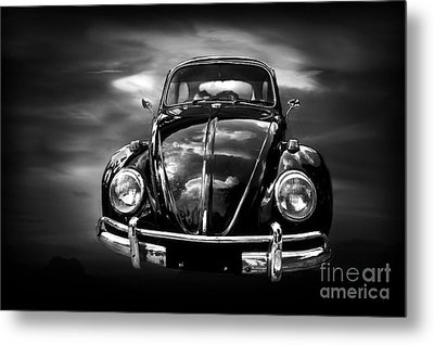 Volkswagen Metal Print by Charuhas Images