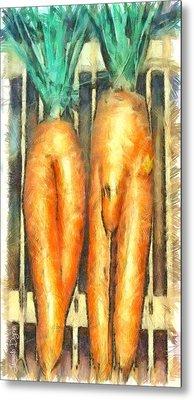 Voodoo Carrots - Pa Metal Print by Leonardo Digenio