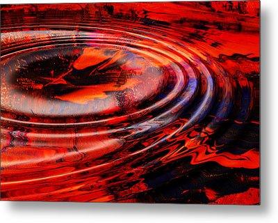 Vortex Metal Print by Patricia Motley